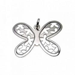 Colgante plata ley 925m 40mm. mariposa grande [AA7842]