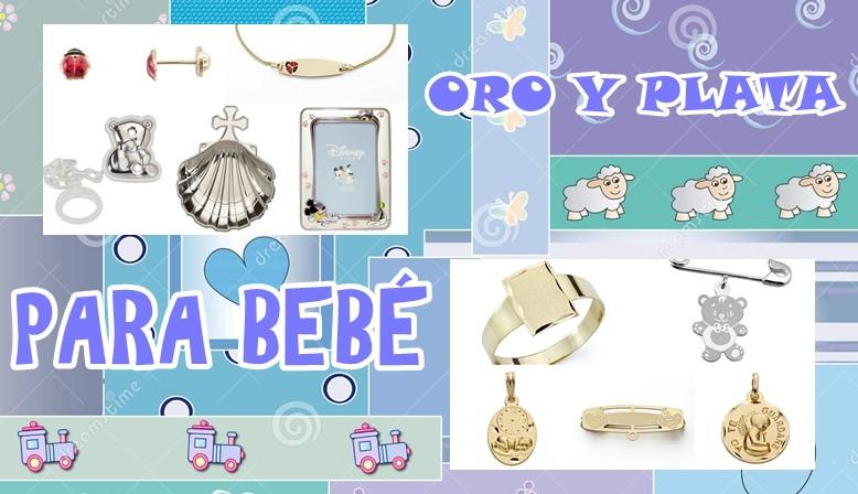 Marcos, pedientes, imperdibles, sellos, esclavas, medallas y conchas para bebé en tienda online