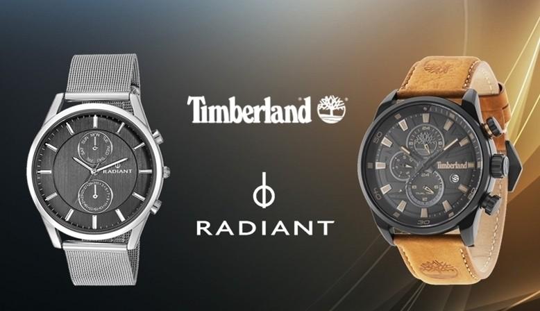 Relojes Timberland y Radiant en joyería relojería online