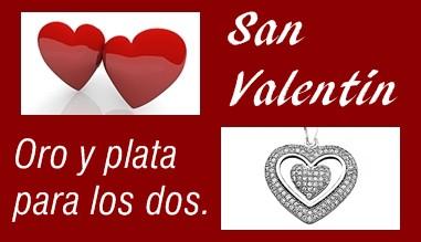 Regalos de San Valentín en el día de los enamorados - 14 de febrero