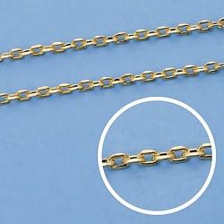 Cadena oro 9k forzada 50cm. 1,5mm. 1,90gr. [6752]