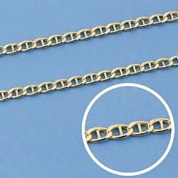 Cadena oro 9k bilbao barra 45cm. 2mm. 1,70gr. [6753]