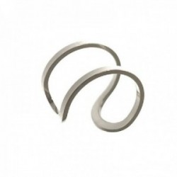 Pendiente ear cuff medio par plata Ley 925m mujer 13 mm. adaptable 9 mm. ancho