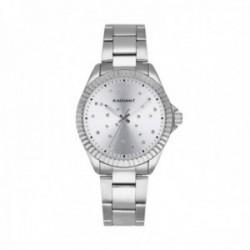 Reloj Radiant mujer RA547201 Constelation Silver acero inoxidable detalles esfea