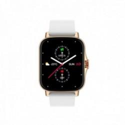 Reloj smartwatch Radiant RAS10403 Las Vegas Premium 45 mm. Ipgold Sile White