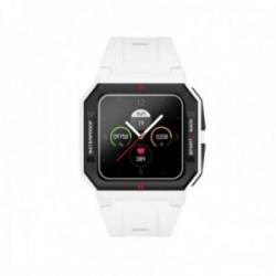 Reloj smartwatch Radiant RAS10504 L.A. Black & White 41 mm. Case Sili White