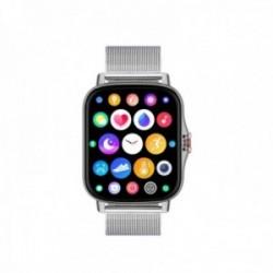 Reloj smartwatch Radiant RAS10404 Las Vegas Premium Ipsilver 45 mm. Silver Mesh