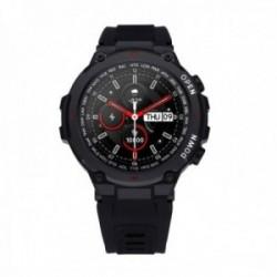 Reloj smartwatch Radiant RAS20601 Watking Green 45.4 mm. Ipblack Sili Black