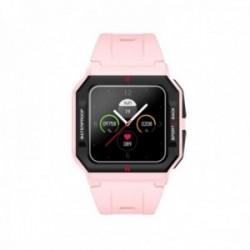 Reloj smartwatch Radiant RAS10503 L.A. Black & Pink Case 41 mm. Sili Pink