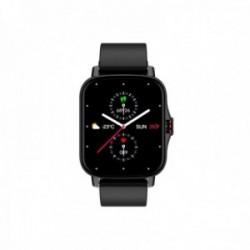 Reloj smartwatch Radiant RAS10401 Las Vegas Premium Ipblack 45 mm. Sili Black