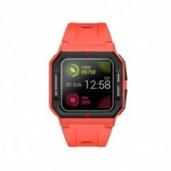 Reloj smartwatch Radiant RAS10502 L.A. Red & Black 41 mm. Case Sili Red