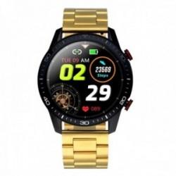 Reloj smartwatch Radiant RAS20502 Le Baron Club 45 mm. Ipblack Gold Bra. acero inoxidable dorado