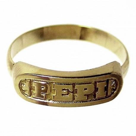 Sortija oro 18k talla ajustable Pepi [163]