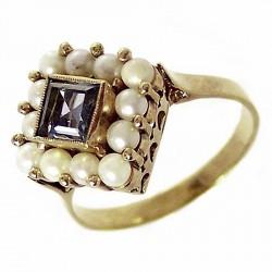 Sortija oro 18k perlas cultivadas [229]