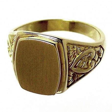 Sello oro 18K caballero. Peso: 8,2gr..  [679]