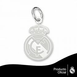 Colgante escudo Real Madrid Plata de ley 16mm.esmalte [6793]