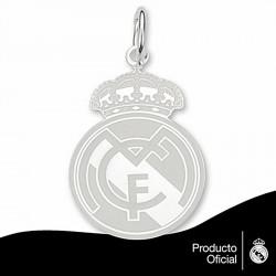 Colgante escudo Real Madrid Plata de ley 30mm. esmalte [6803]