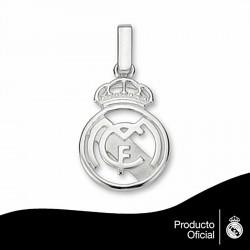 Colgante escudo Real Madrid Plata de ley calado pequeño [6812]