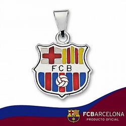 Colgante escudo F.C. Barcelona Plata de ley esmalte [6884]