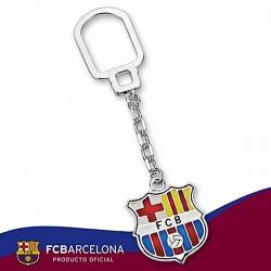 Llavero escudo F.C. Barcelona Plata de ley esmalte [6888]