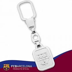 Llavero escudo F.C. Barcelona Plata de ley [6890]