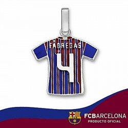 Camiseta F.C. Barcelona Plata de ley Fábregas n4 2011-12 [6949]