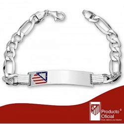 Esclava escudo Atlético de Madrid Plata de ley cartier 21,5cm. [7021]