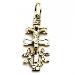 Cruz oro colgante 9k caravaca 24mm. Cristo elevado [7251]