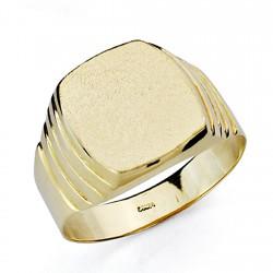 Sello oro 18k caballerotallado hueco [7500]