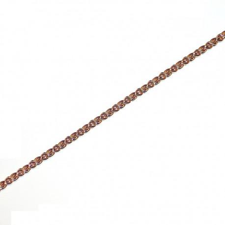 Pulsera chapada oro [4609]