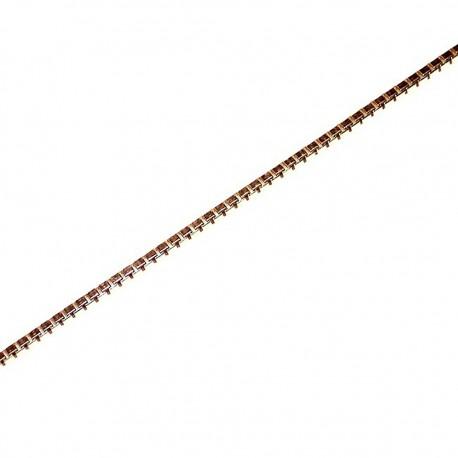 Pulsera chapada oro [2694]
