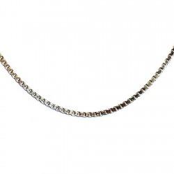 Gargantilla chapada oro cadena veneciana 45cm. [4634]