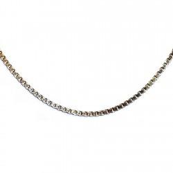 Gargantilla chapada oro cadena veneciana 46,5cm. [4635]