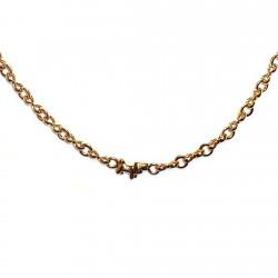 Gargantilla chapada oro [4642]