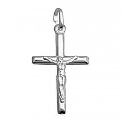 Crucifijo plata Ley 925m Cristo 30mm. [7788]