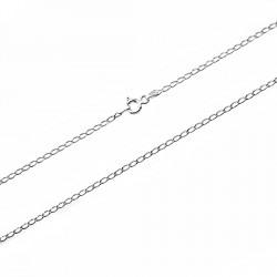 Cadena plata Ley 925m 60 cm. bilbao 1,9mm. [7838]