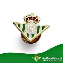 Pin escudo Real Betis oro de ley 18k esmalte [8608]