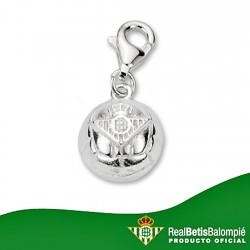 Chamrs escudo Real Betis plata de ley pelota [8639]