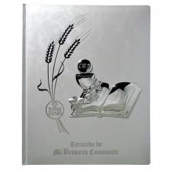 Libro Primera Comunión albúm detalle plata Ley 925m cáliz libro [8805]
