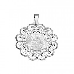 Medalla plata ley 925m Virgen Macarena [8847]