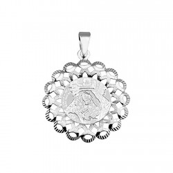 Medalla plata ley 925m Virgen Macarena pequeña [8852]