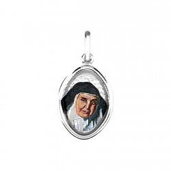Colgante plata ley 925m medalla Sor Ángela de la Cruz imagen [8865]