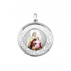 Medalla plata ley 925m. Virgen Carmen 35mm. imagen [8923]