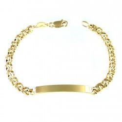 Esclava chapada oro 17cm. cadena húngara [2698]