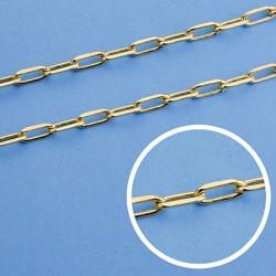 Cadena oro 18k maciza forzada. 50 cm. 3 mm. 11.50 grs. [9457]