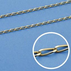 Cadena oro 18k maciza bilbao 50 cm. 1.2 mm. 2.70 grs. [9464]