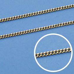 Cadena oro 18k maciza barbada 60 cm. 1.2 mm. 4.70 grs. [9490]