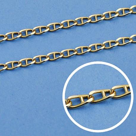 Cadena oro 18k maciza ancla 40 cm. 1.8 mm. 3.60 grs. [9533]