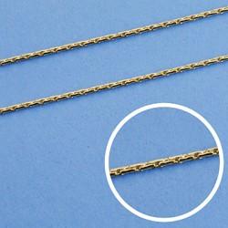 Cadena oro 18k maciza avena 45 cm. 0.8 mm. 3.40 grs. [9548]