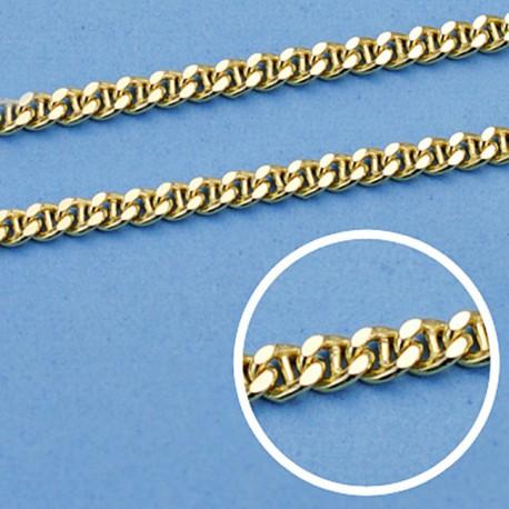 Cadena oro 18k hueca ancla 45 cm. 2,5 mm. 5.25 grs. [9614]